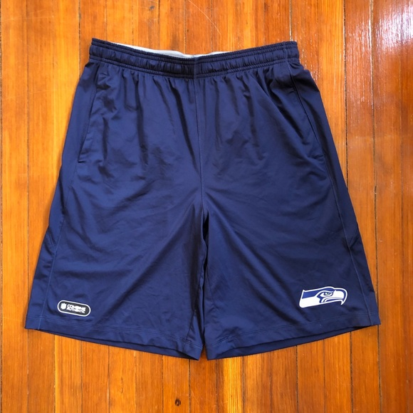 official photos 4a647 0cb07 Under Armour Seattle Seahawks NFL Combine Shorts